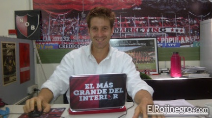 Entrevista a Sebastián Todaro, Gerente de Marketing de Newells. #ConexiónFútbol2014